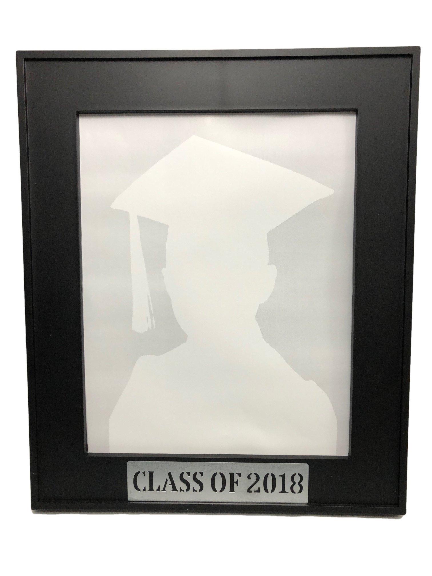 Graduation Class of 2018 Black 8x10 inch Photo Frame