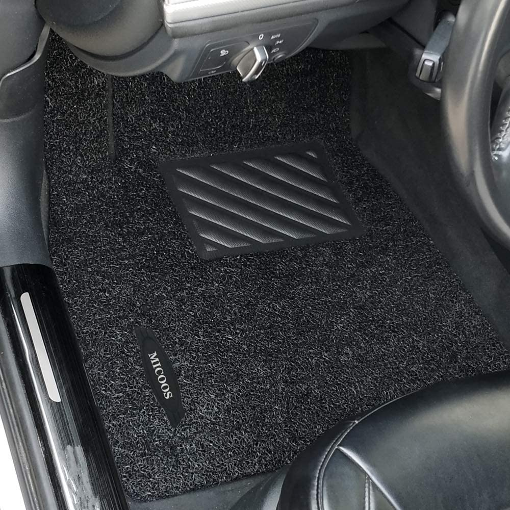 Black 2003-2010 MICOOS Compatible with Car Floor Mat Carpet for BMW X3 E83 All Weather Heavy Duty Floor Mat Set Waterproof Stain-Resistant