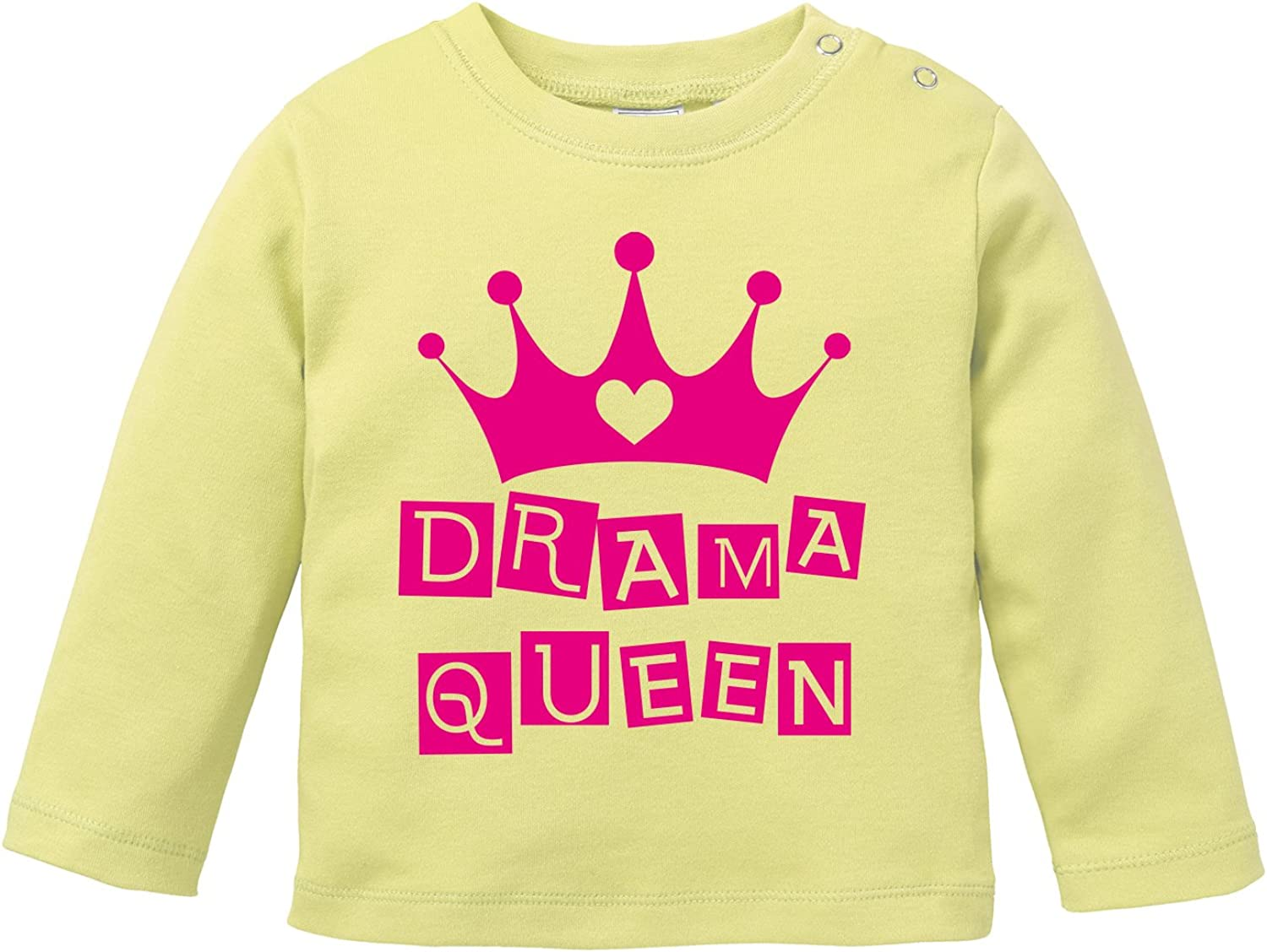 Angry Shirts Drama Queen Bio Baby Longssleeve Dramaqueen