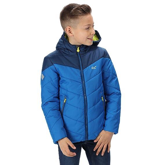 Regatta  Lofthouse III Insulated Jacket Chaquetas Acolchadas Naranja Blaze//Im/án 11-12 a/ños Infantil