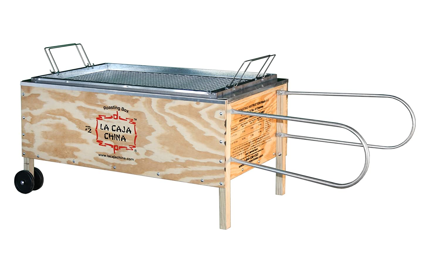 Amazon La Caja China Model 2 La Caja China Roasting Box