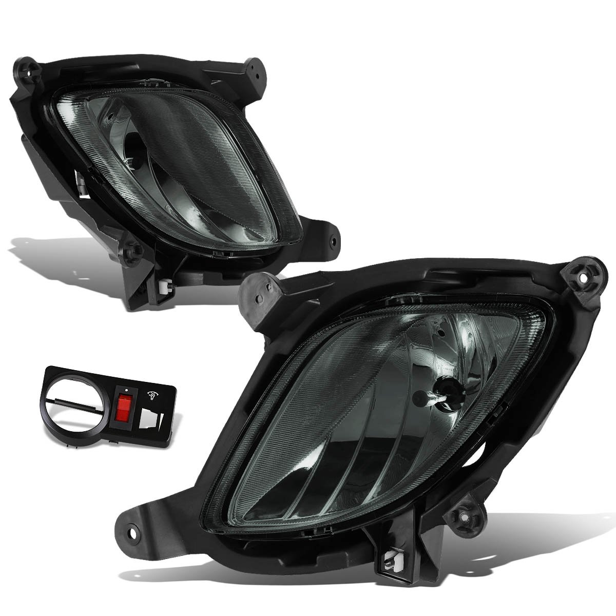 Amazon.com: For Genesis Coupe Pair of Bumper Driving Fog Lights w/Switch  (Smoke Lens): Automotive
