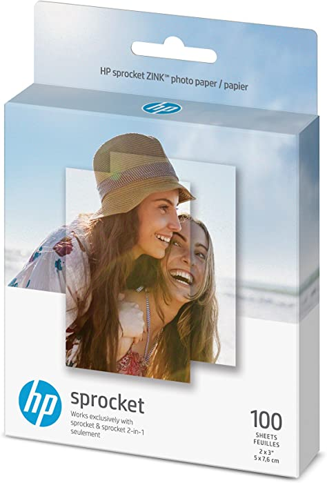 HP Sprocket Photo Paper | 2x3 | 100 sheets