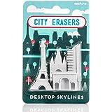 SUCK UK Paris City Erasers