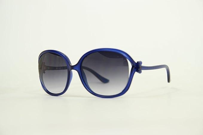 Moschino MO-61508-S Gafas de Sol, Navy, 58 para Mujer ...