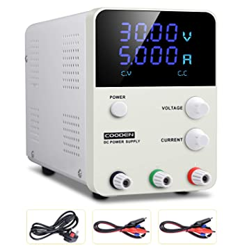 New 0-30V 0-5A Portable Mini DC regulated Adjustable DC power supply