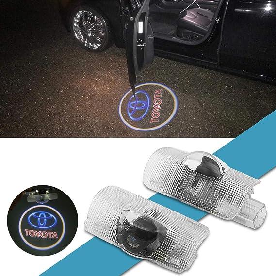 Amazon.com: Meng Anna - Logo para puerta de coche, proyector ...