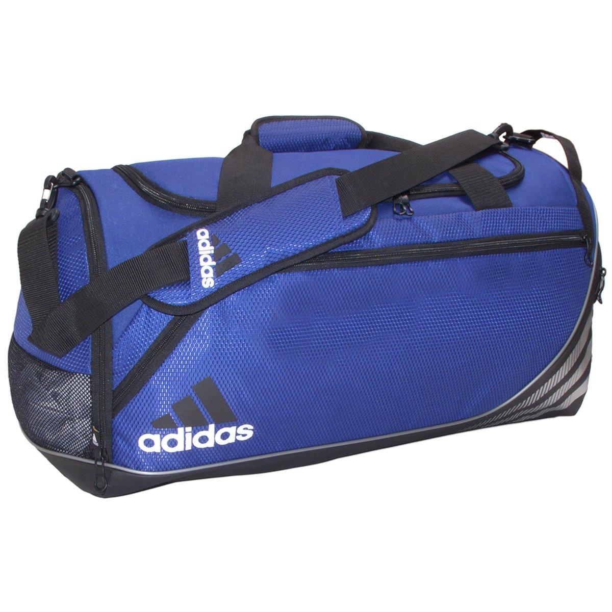 adidas Team Speed Duffel Bag (Medium) Cobalt/Black Agron Inc (adidas Bags) Team Speed Duffel Medium