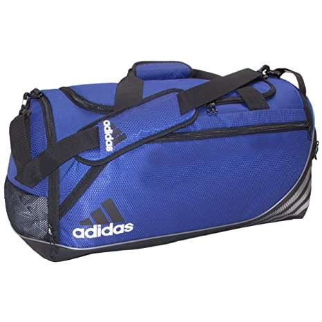 f09cb184683 Amazon.com  adidas Team Speed Medium Duffel Bag, Cobalt Black ...