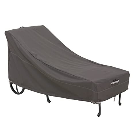 Classic Accessories Ravenna Patio Chaise Lounge Cover   Premium Outdoor  Furniture Cover With Durable And Water