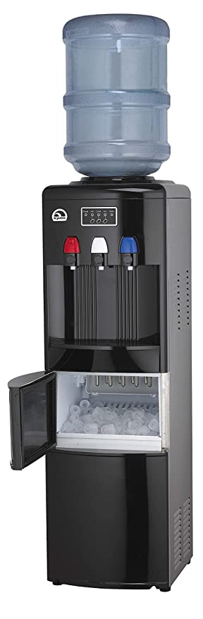 Amazoncom Igloo Water CoolerDispenser with Ice Maker Black