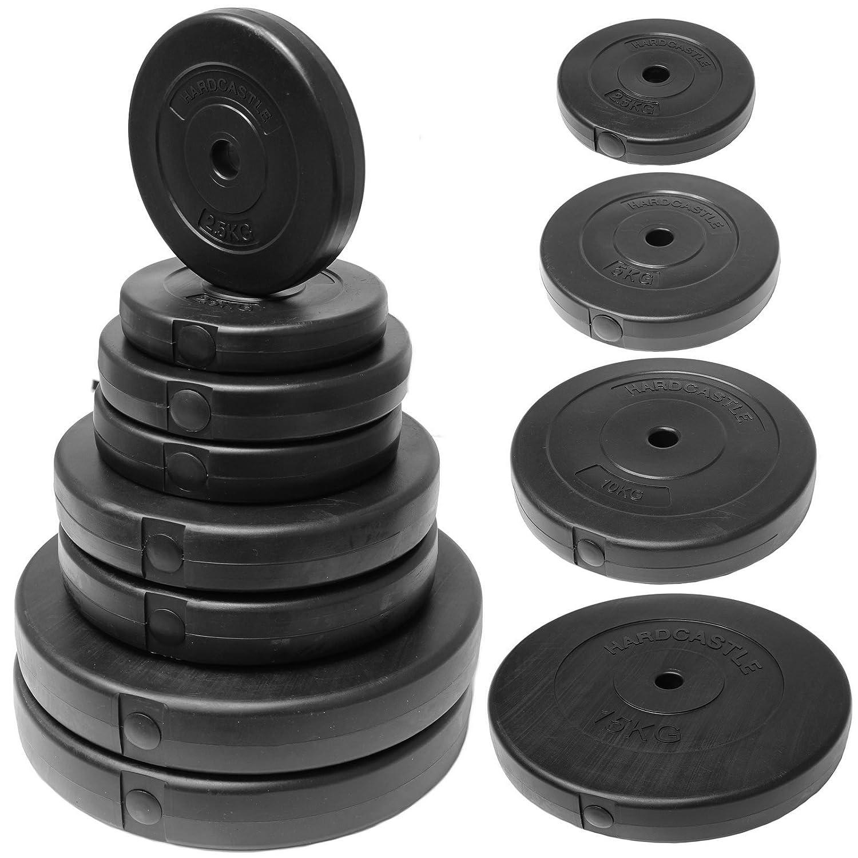 hardcastle vinyl 1 weight plates choice of size amazon co uk