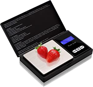 Digital Kitchen Scales, 500g/0.01g Mini Food Scales, Electric Cooking Scales, Waterproof Digital Scale,LCD Display KS006