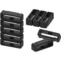 ECSEM Fastener Ring Compatible with Garmin Fenix/ Fenix2/ Fenix3/ Fenix3 hr/ Fenix3 hr(DLC)/ Fenix5x Plus/ Fenix5x DLC/ Forerunner225 Smartwatch (Black)