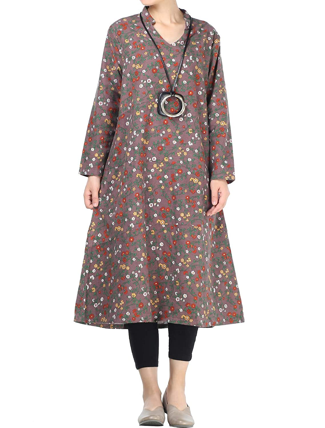 Mordenmiss Style APPAREL Mordenmiss レディース B07GX78DPB Large|Style 2-coffee Style 2-coffee 2-coffee Large, タカグン:43993ad7 --- faculdadeteologicaceia.com.br