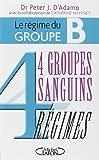 4 groupes sanguins 4 régimes : Le régime du groupe B