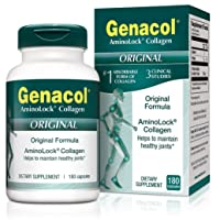 GENACOL Original Joint Supplements for Men & Women (180 Capsules) |Hydrolyzed Collagen...