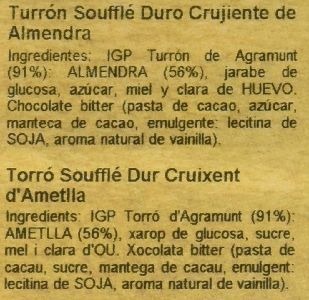 Vicens Turrón Soufflé Duro Crujiente de Almendra - 300 g: Amazon.es: Amazon Pantry