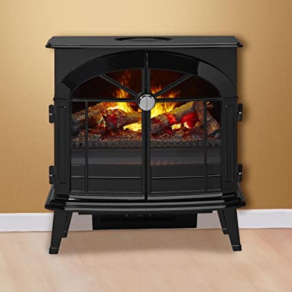 Enjoyable Dimplex Electric Stove And Fireplace 25 Wall Mounted With Acrylic Ember Bed With Black Finish Stockbridge Os2527Gb Home Interior And Landscaping Palasignezvosmurscom