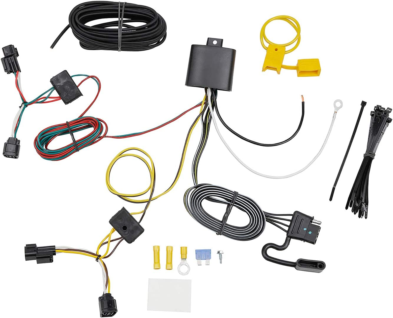 Tekonsha 118776 T-One Connector Assembly with Upgraded Circuit Protected ModuLite HD Module