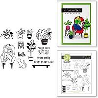 Spellbinders Plant Lady Clear Stamp Set