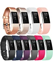 Tobfit Bracelet Compatible avec Fitbit Charge 2 Réglables Sport Accessorie Replacement Band pour Fitbit Charge 2 Fitness Wristband