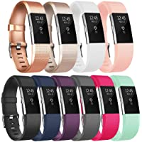 Tobfit Bracelet Compatible avec Fitbit Charge 2 Réglables Sport Accessorie Replacement Band pour Fitbit Charge 2 Fitness Wristband