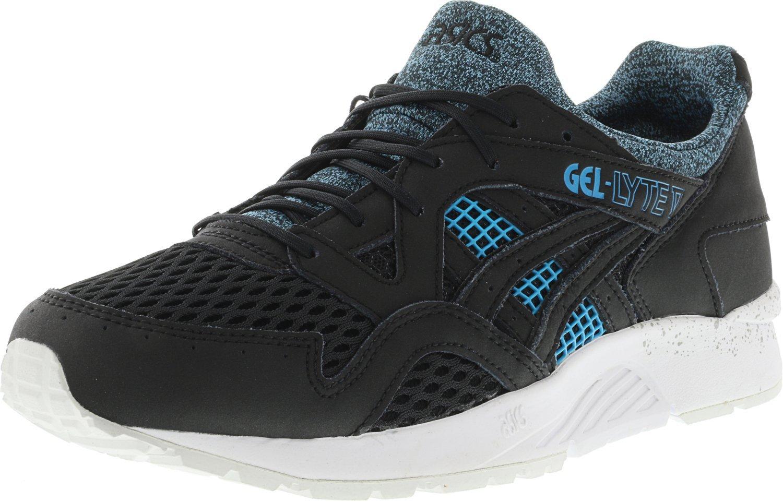 ASICS Men's Gel-Lyte V Black/Blue Ankle-High Running Shoe - 11M by ASICS