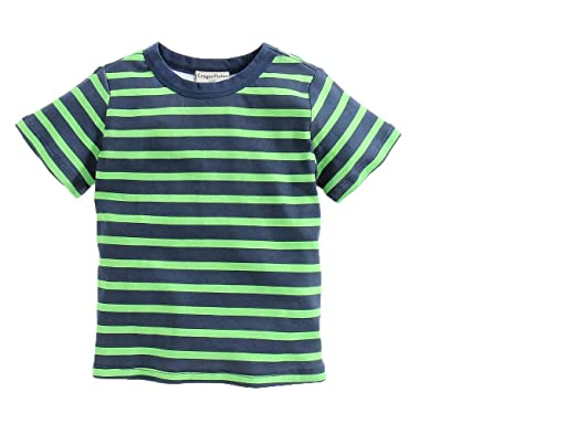 8708ad4c60 Amazon.com: CrayonFlakes Green & Black Striped 100% Cotton Half ...