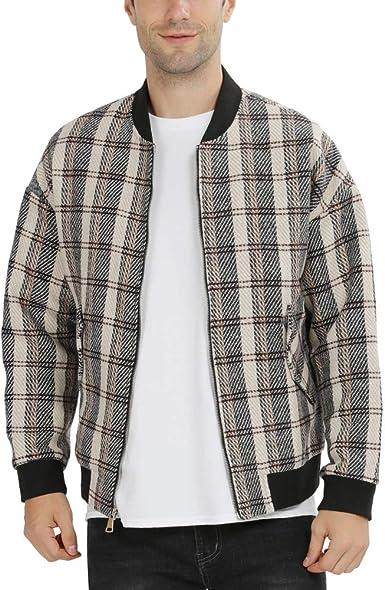 Heavy Duty Black Wool Harrington Jacket`s