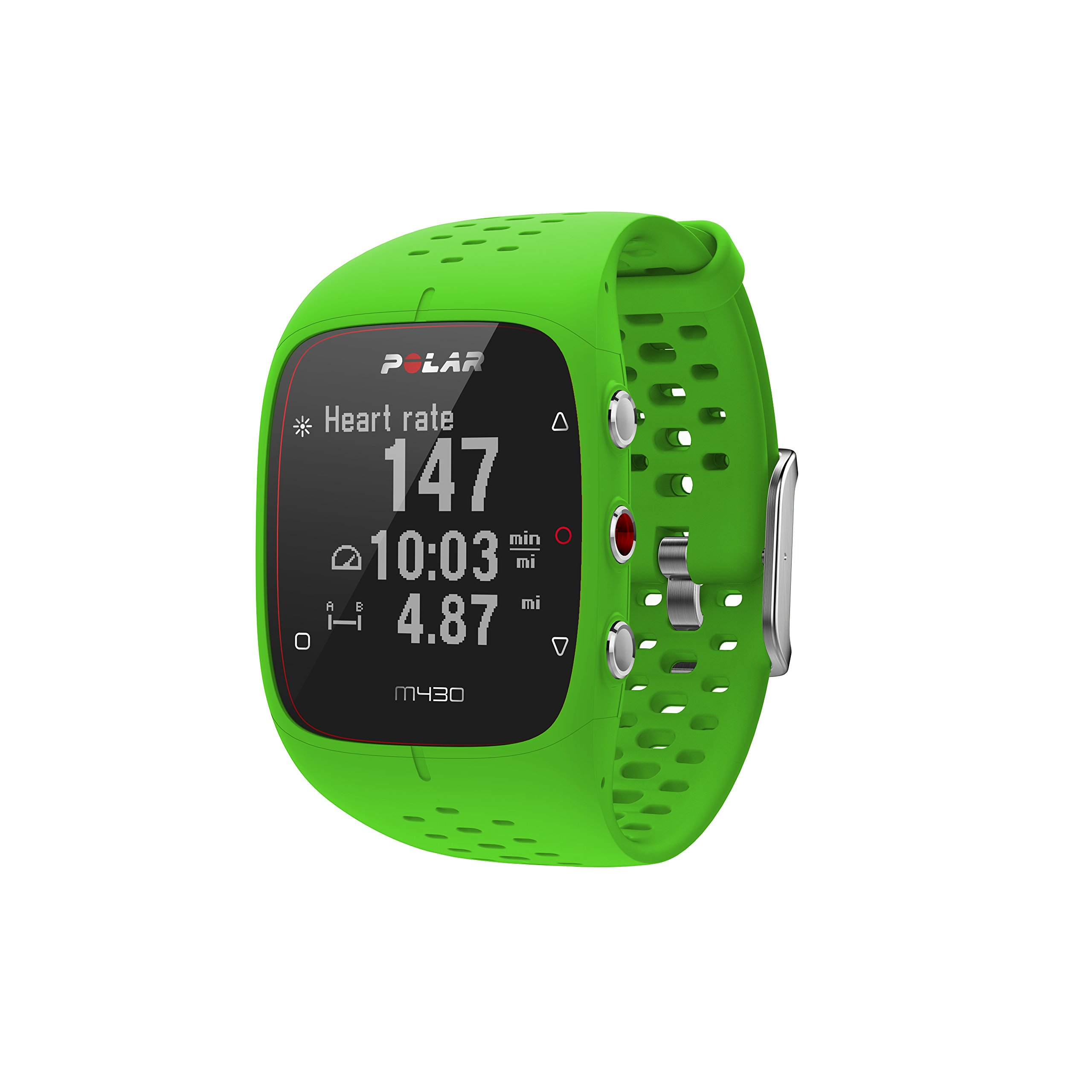 Polar M430 GPS Running Watch Green, Green, Medium/Large by Polar