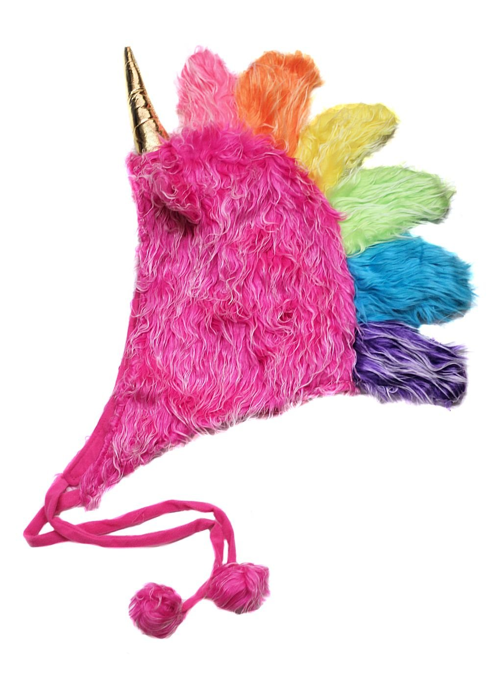 Storybook Wishes Plush Soft Fuzzy Unicorn Adult Hat (Choose Color)