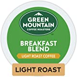 Green Mountain Coffee Roasters Breakfast Blend Keurig Single-Serve K-Cup Pods, Light Roast Coffee, 32 Count