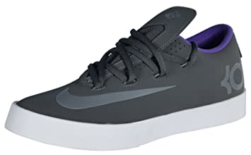 a0af90e66b19 Amazon.com  Nike Kids KD Vulc (GS) Sneaker Shoes-Dark Grey Cool Grey ...