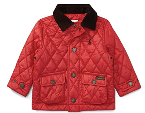 7c972f004 RALPH LAUREN Baby Boys  Quilted Barn Jacket Size 6 Months (Cruise ...