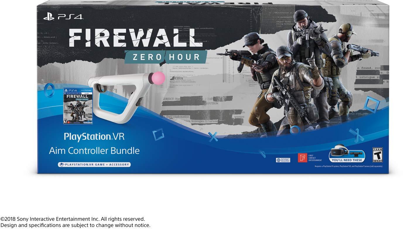 Paquete PSVR Aim Controller Firewall Zero Hour - PlayStation VR