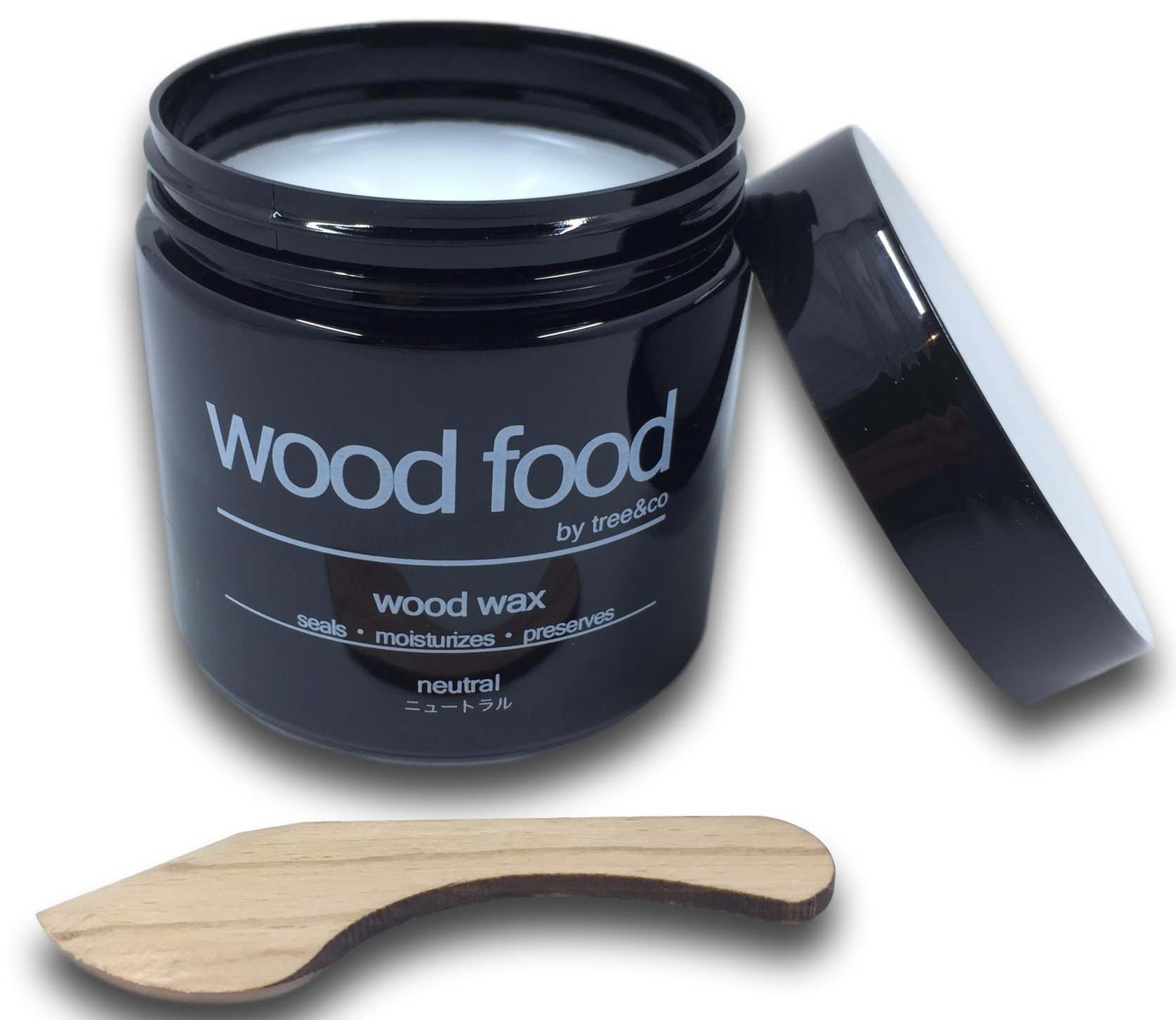 Wood Food Wax - Protection for Cutting Boards, Furniture, Flooring, Toys & Salad Bowls (Neutral, 180ml / 6oz)