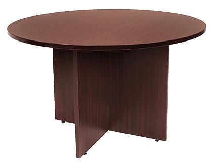 Amazoncom Regency Legacy Inch Round Conference Table Mahogany - 42 inch round conference table