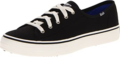 Keds Women's Double Up Core Fashion Sneaker,Black,9.5 ...