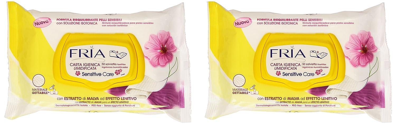 Fria - Sensitive Care - Toallitas higiénicas humidificadas - 50 unidades: Amazon.es: Belleza