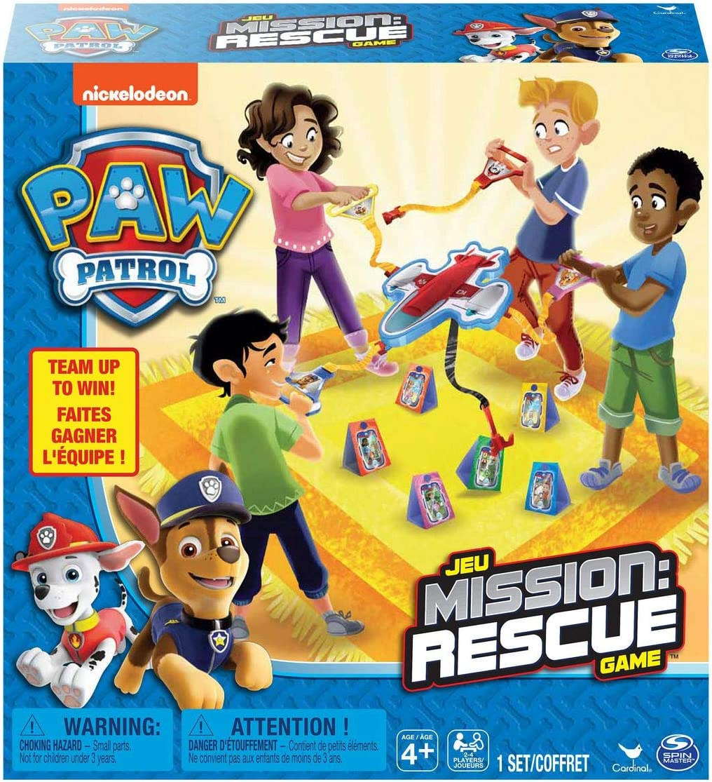 Spin Master Games Paw Patrol Mission Rescue Game, Multicolor (6051229)