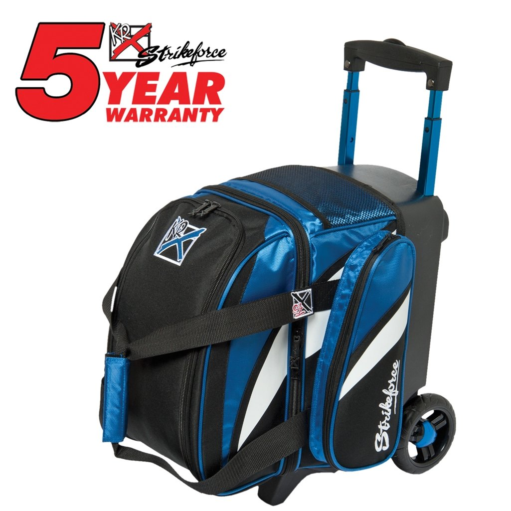 KR Cruiser Single Roller Bowling Bag Royal//White//Black
