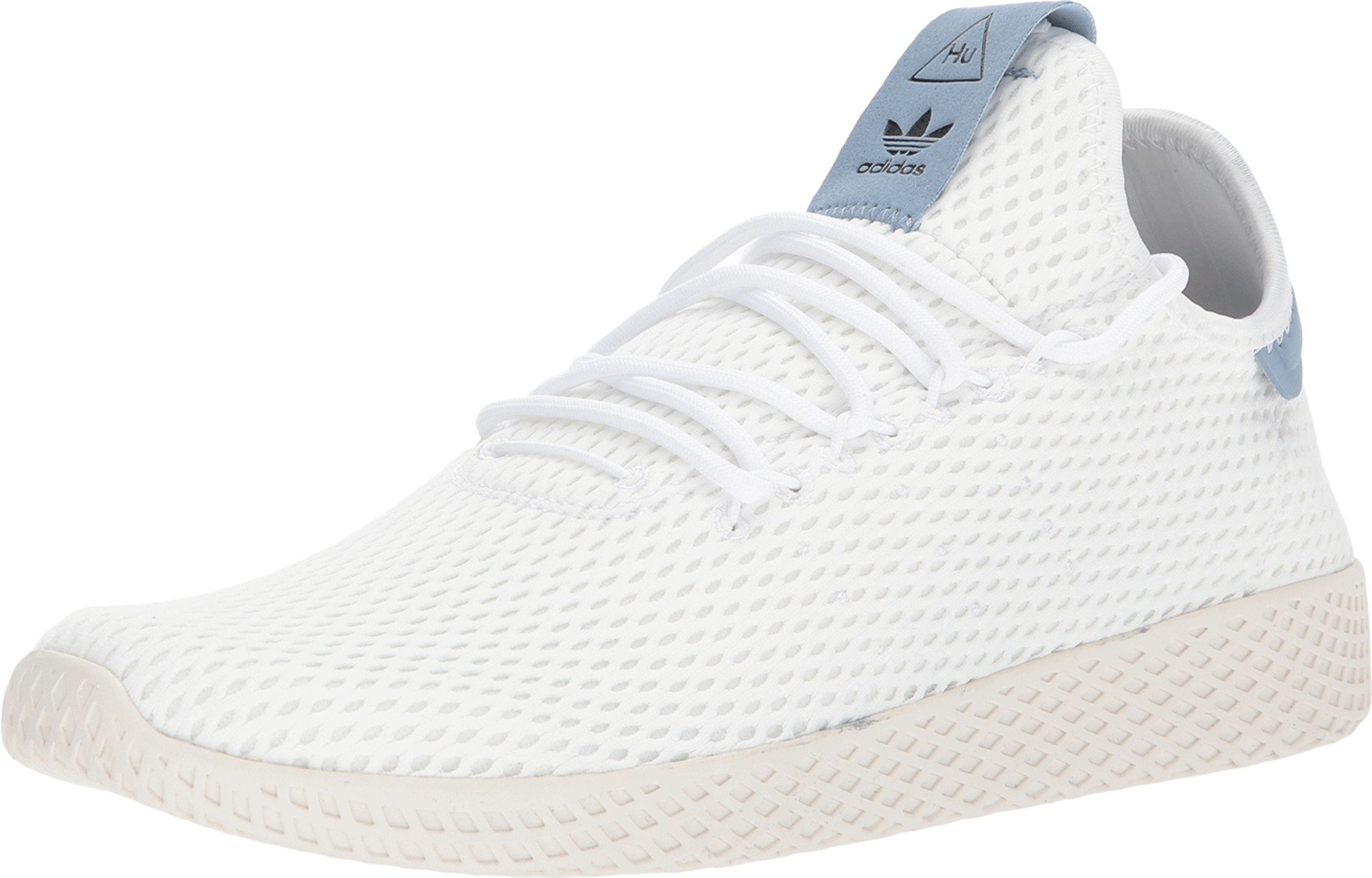 adidas Originals Men's Pharrell Williams Human Race White/White/Blue 5.5 D US D (M) by adidas Originals