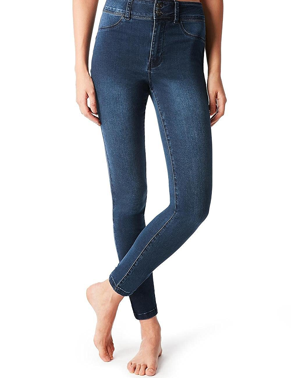 speciale per scarpa miglior valore stile attraente Calzedonia Womens High-Waisted Push-Up Jeans: Amazon.co.uk ...