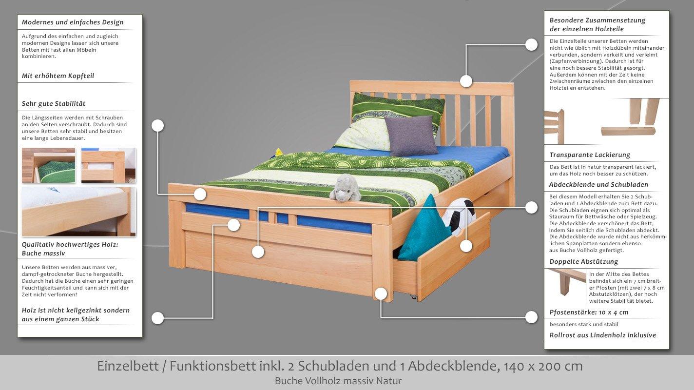 Single Bedstorage Bedeasy Furniture K8 Includes 4 Drawers