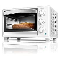 Cecotec Horno Sobremesa Bake&Toast 590. Capacidad de 23 litros, 1500 W, 3 Modos, Temperatura hasta 230ºC y Tiempo hasta…