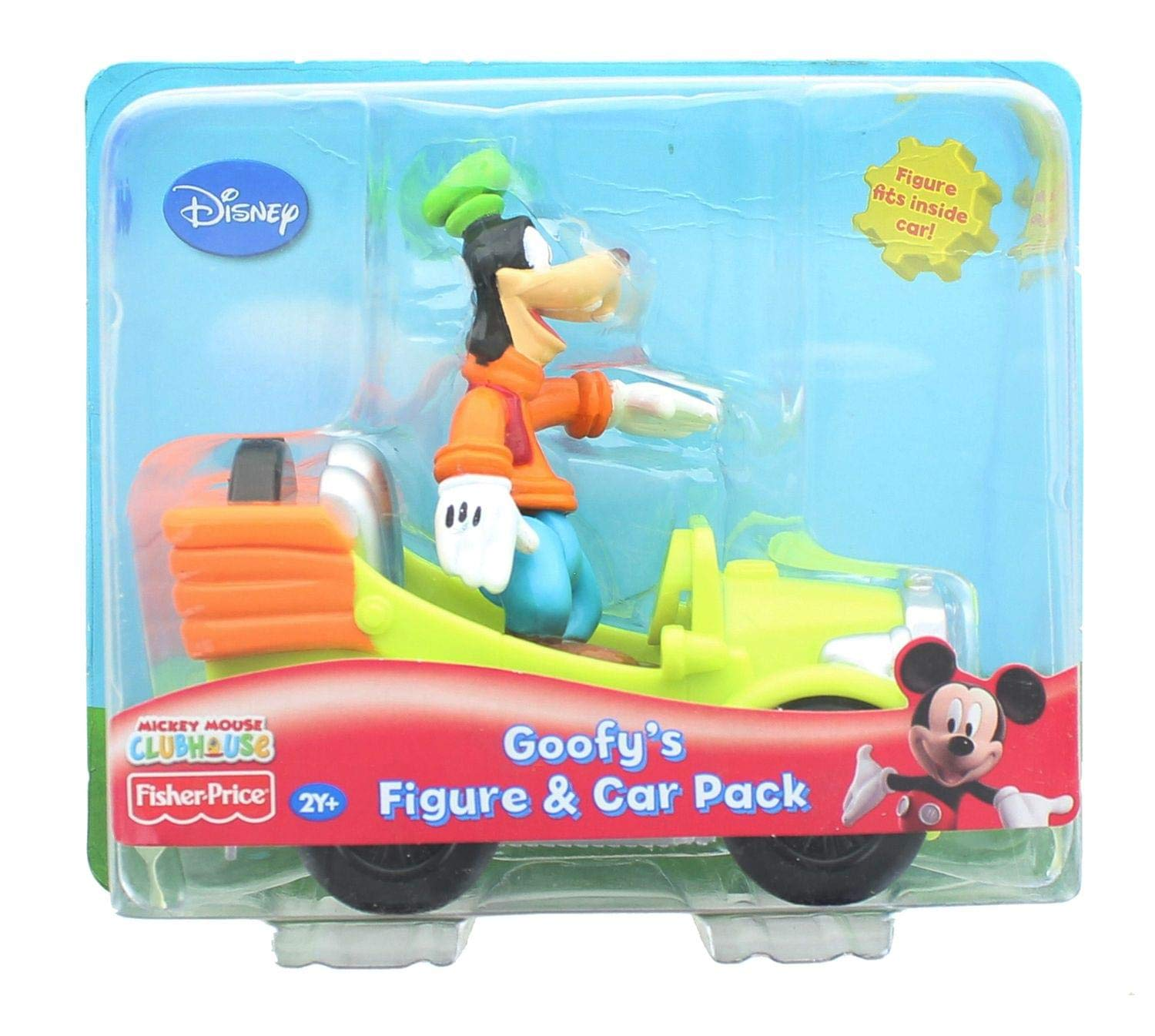 Mickey Goofy's PackJeux Mouse Figureamp; Car Clubhouse cj35ASRq4L