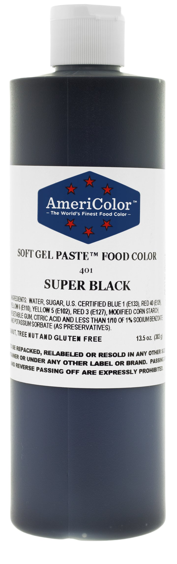 Americolor Food Color, 13.5-Ounce, Super Black