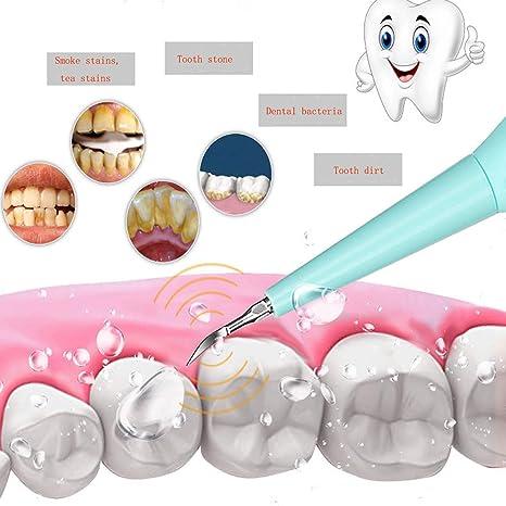 Limpiador eléctrico de dientes para viajes y uso doméstico, cepillo de dientes eléctrico, limpiador de dientes reemplazable, cepillo de dientes, ...