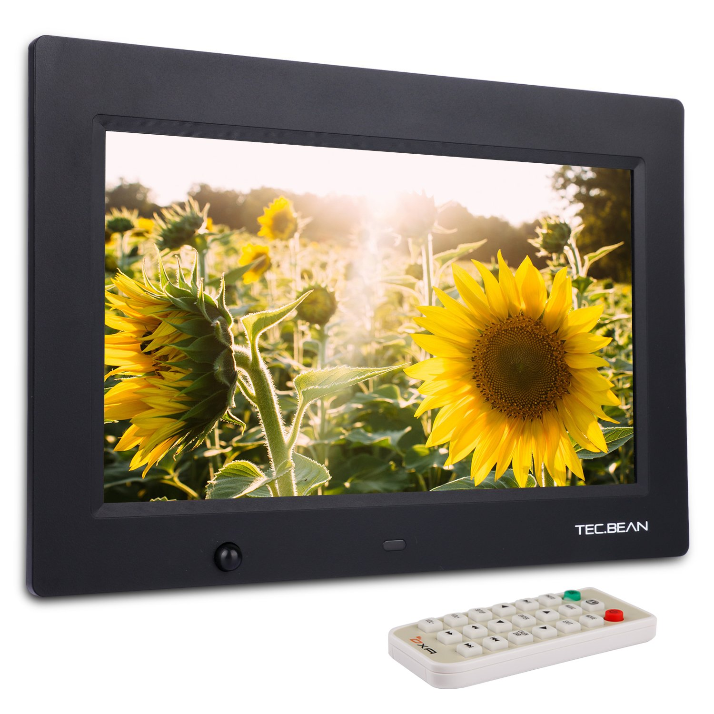 TEC.BEAN 10.1-Zoll 8G HD Digitaler Bilderrahmen mit Eingebautem ...